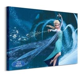 Frozen elsa magic french - obraz na płótnie