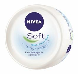 Nivea Soft, intensywnie nawilżający krem, 100ml