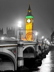 Fototapeta big ben, london, uk