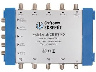 Multiswitch technisat ce 58 - szybka dostawa lub możliwość odbioru w 39 miastach