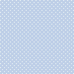 Ozdobny filc z nadrukiem 30x30 cm- błękitne kropki - BKK