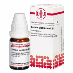 Ferrum Picrinicum C 30 Globuli