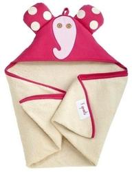 Ręcznik z kapturkiem - słonik