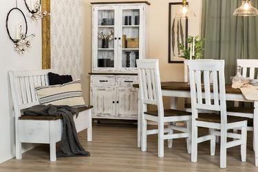 Stół do jadalni vinti 160x90 cm drewniany