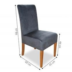 Krzesło tapicerowane sofaya ii do jadalni