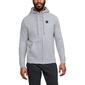 Bluza męska under armour rival fleece fz hoodie - szary
