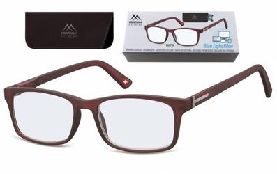 Okulary korekcyjne z antyrefleksem brazowe montana blfbox73c