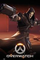 Overwatch Żniwiarz - plakat