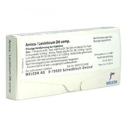 Arnicalevisticum d 6 comp. amp.