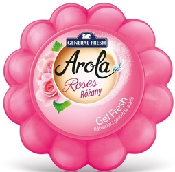 Arola, general fresh ,gel fresh, dynia, róża, odświeżacz powietrza w żelu, 150g, 10 sztuk