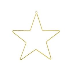Gwiazda metalowa złota bloomingville