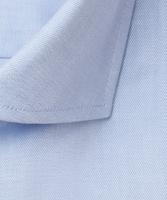 Niebieska koszula profuomo z wstawkami regular fit 38