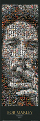 Bob Marley - Mozaika - plakat
