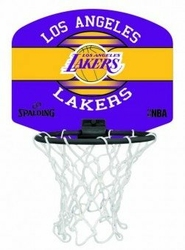 Mini tablica do koszykówki Spalding NBA Los Angeles Lakers - Lakers
