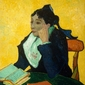 L_arlésienne madame joseph-michel ginoux, vincent van gogh - plakat wymiar do wyboru: 29,7x42 cm