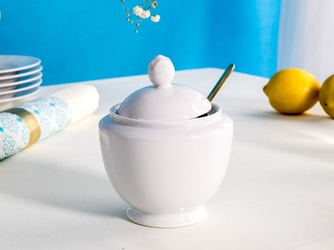 Cukiernica porcelana karolina mariapaula biała 330 ml