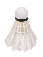 Lotki do badmintona vivo piórowe białe 6szt c-100