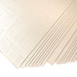 Karton ozdobny 220g satynowy a4 20 szt. biały - bia - 20 sztuk