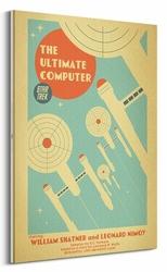 Star Trek The Ultimate Computer - obraz na płótnie