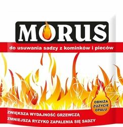 Morus, proszek do usuwania sadzy z kominków i pieców, 50g