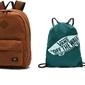 Zestaw szkolny vans plecak szkolny vans old skool plus backpack - vn0002tmyfq 000 + worek vans - vn0a3ui6ali 295