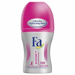 Fa Sport Double Power Sporty Fresh, dezodorant roll-on, 50ml