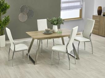 Rozkładany stół do jadalni bute 130-170x80 cm białydąb sonoma