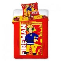 Pościel strażak sam 160x200cm fireman sam