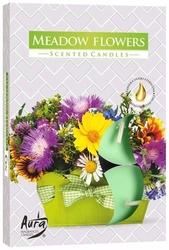 Bispol, kwiatowa łąka, podgrzewacze zapachowe, 6 sztuk