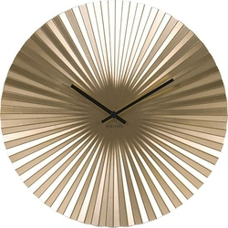 Zegar ścienny Sensu złoty 40 cm