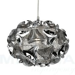 Triangle lampa wisząca 1 chrom aluminium akryl