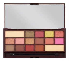 Makeup revolution paleta cieni do powiek rose gold
