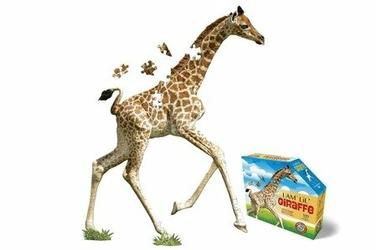 Puzzle I AM LIL - GIRAFFE - Żyrafa