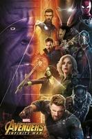 Marvel avengers infinity war - plakat