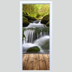 Fototapeta na drzwi wodospad 112p