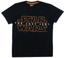 Koszulka star wars the last jedi 11 lat czarna