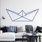 Szablon do malowania papierowa łódka origami 2470
