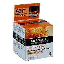 Dr.scheller thistlechia bogaty krem pielęgnacyjny na dzień