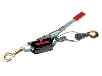 Wyciągarka wciągarka linowa uciąg 4 tony podwójne zębatki hak falon-tech