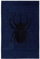 Dywan scarabio dark blue 160x230 stone collection