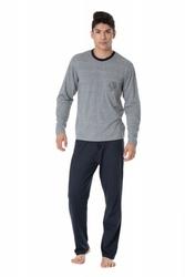 Rossli sam-py-098 piżama męska