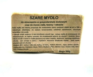 CARMEN SZARE MYDŁO 200G
