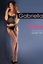 Gabriella Erotica Strip Panty 151 Code 636 rajstopy