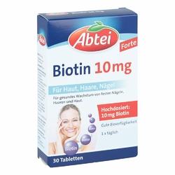 Abtei tabletki z biotyną 10 mg