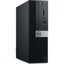 Dell Komputer Optiplex 7070 SFF W10Pro i5-95008GB256GB SSDIntel UHD 630DVD RWKB216  MS1163Y NBD