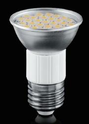 Żarówka LED - 27 - SMD5050 - JDR E27 - 230V - 5W - biała ciepła LE