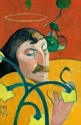Autoportret 1889, paul gauguin - plakat wymiar do wyboru: 70x100 cm