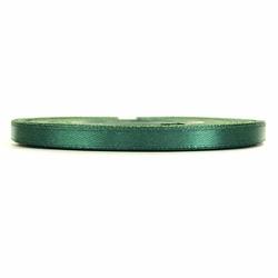 Tasiemka satynowa 6mm32m - zielony butelkowy