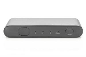 Digitus rozdzielaczsplitter hdmi 3-portowy, 4k 60hz uhd 3d hdr, hdcp 2.2, audio