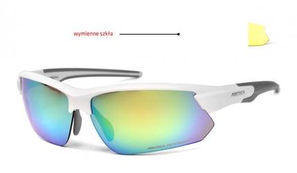 Okulary arctica s-293c wymienne szkła lustrzane